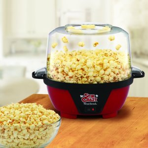 West Bend 82505 Stir Crazy Popcorn Popper, 6-Quart