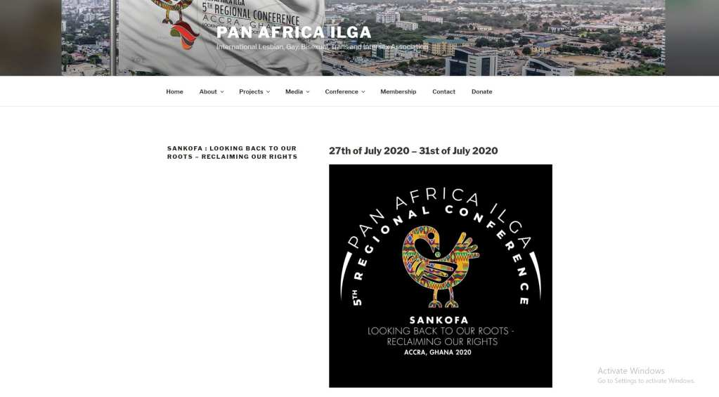 REVEALED: Gays, Lesbians and affiliates to hold first ever international conference in Ghana in July 1