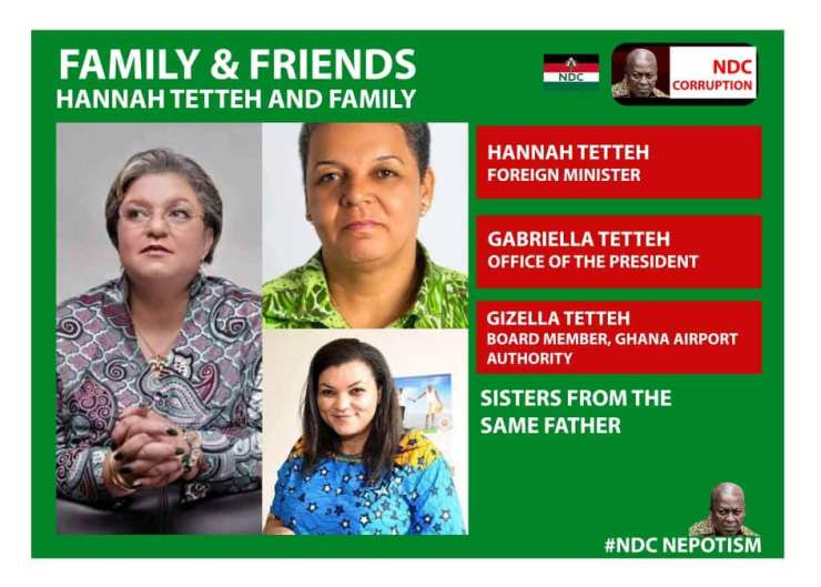 Family and Friends: We joined Mahama's gov't through different doors – Tetteh sisters defend 2
