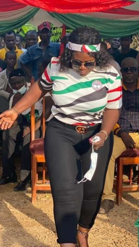 PHOTOS: 28 'serious' pictures of 'heavily endowed' Jomoro MP Dorcas Affo-Toffey that will blow your mind and MORE 18