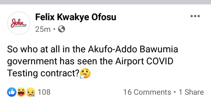 Ghanaians finger Akufo-Addo as all his top officials deny knowledge of $150 Airport Antigen contract 16