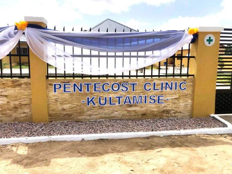 Church of Pentecost builds ultra-modern clinic with staff residence for Upper East village - (Photos). 53