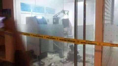 2 Mesin ATM Sebuah Bank Di Putatan Diletupkan