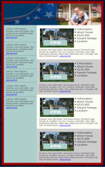 My Newsletter Builder  Examples for Real Estate Holiday Email