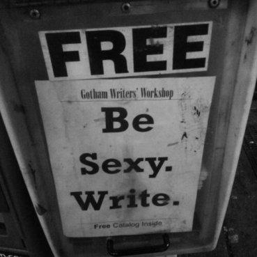 Be Sexy. Write.