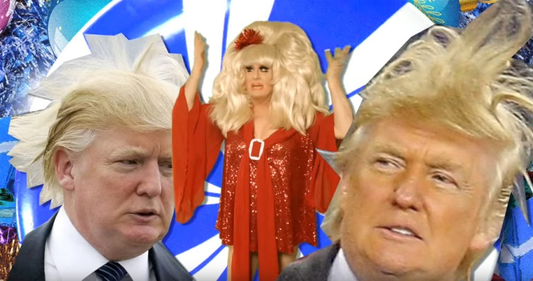 Watch: Lady Bunny Slams Trump in Parody—Well Almost a Parody