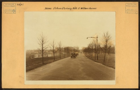 Pelham Parkway North at Wallace Avenue in 1913/NYPL Digital Collections