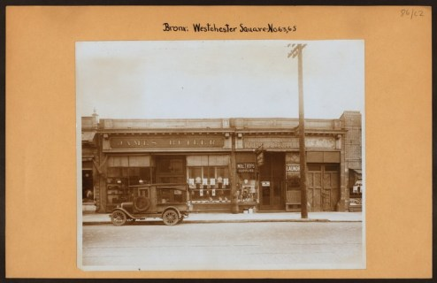 """Irma and Paul Milstein Division of United States History, Local History and Genealogy, The New York Public Library. """"Bronx: Westchester Square - Fink Avenue"""" The New York Public Library Digital Collections. 1913."""