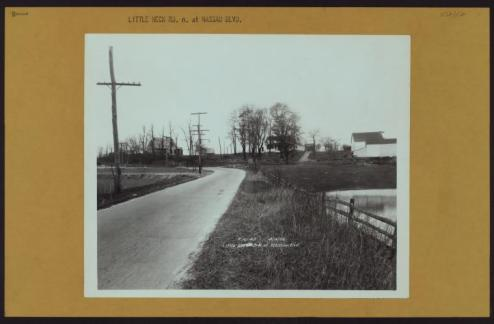 Bayside, Little Neck Road at Nassau Boulevard just near the Nassau/Queens County Line/NYPL Digital Collections
