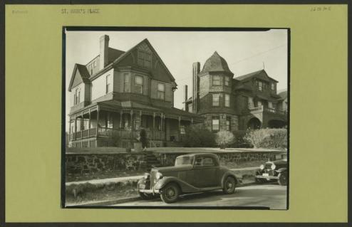 St Marks Place in St George in 1927/NYPL Digital Collections