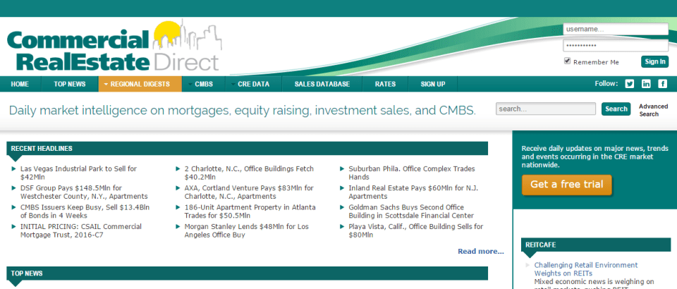 cre direct commercial real estate news