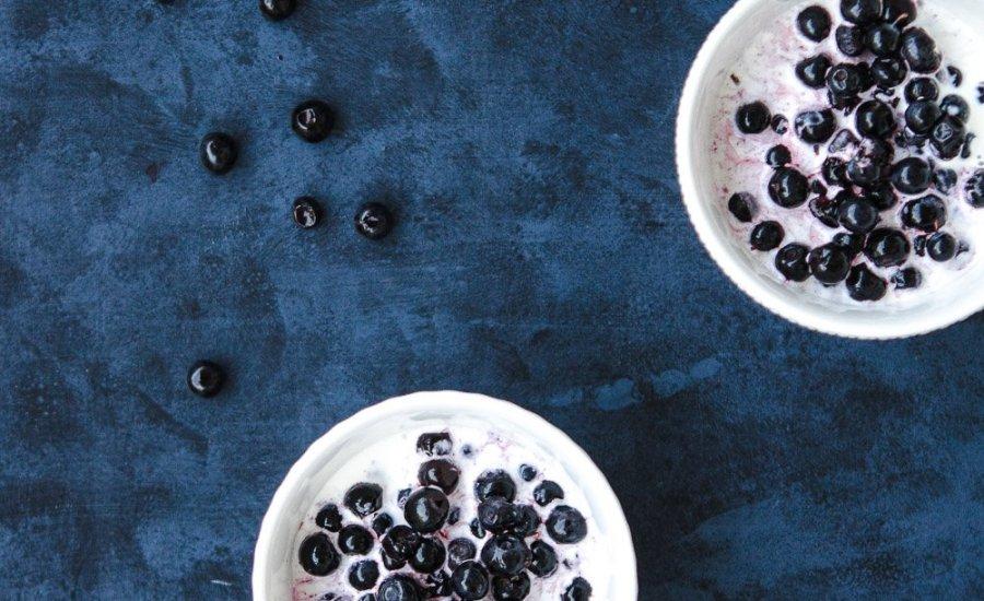 Blåbær i fløte | Blueberry in Cream