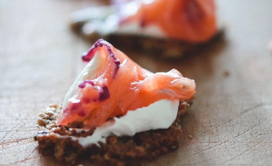 Nordic Supper | Blackberry Gravlax