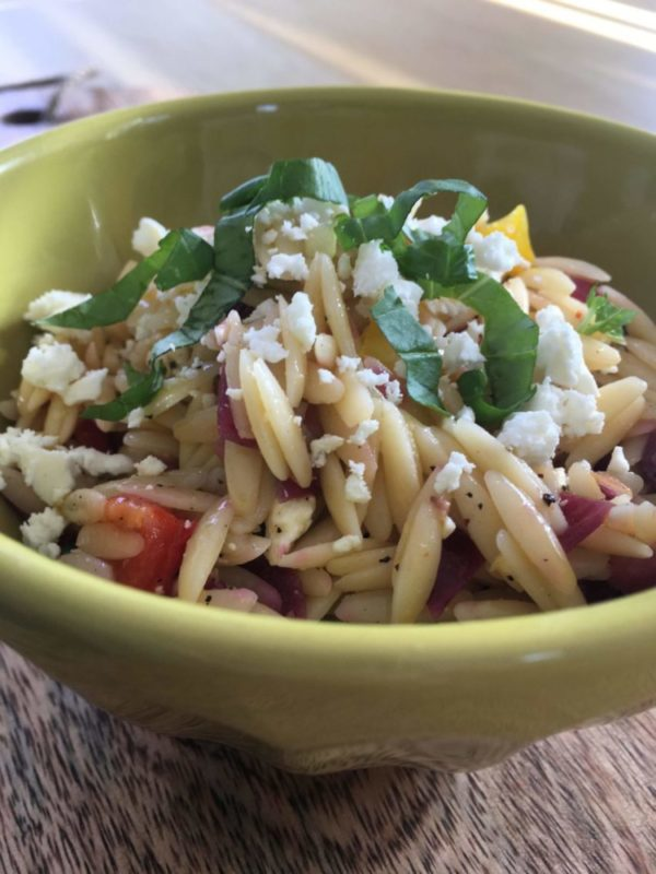 Orzo Salad With Roasted Vegetables – A Nephew's Request