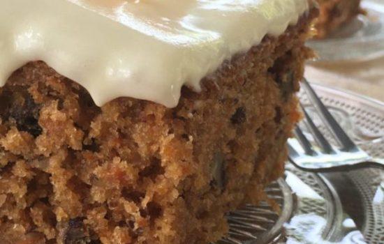 Carrot Cake – Celebration of Life