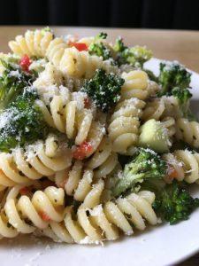 Rotini/Fusilli salad