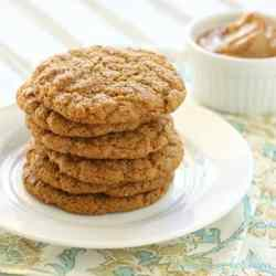 Whole Food Peanut Butter Cookies