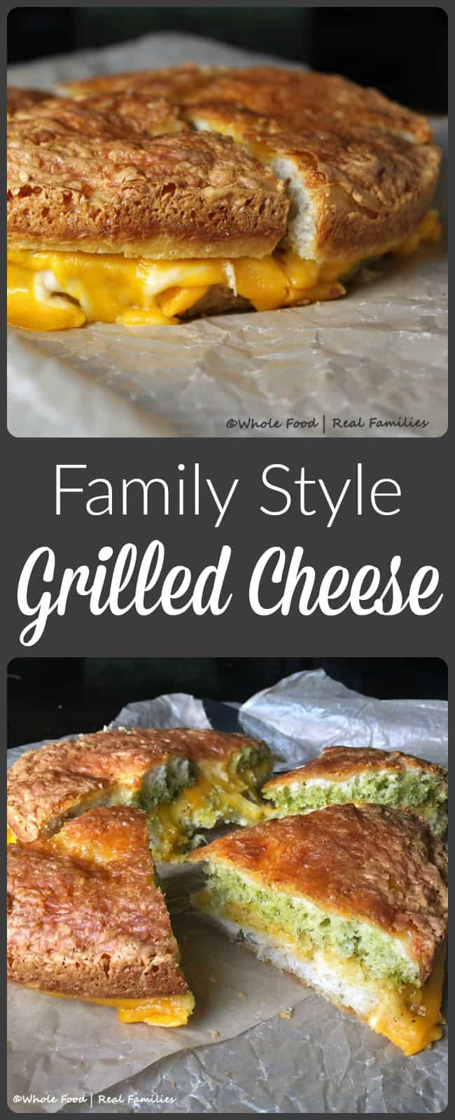 Family Style Grilled Cheese