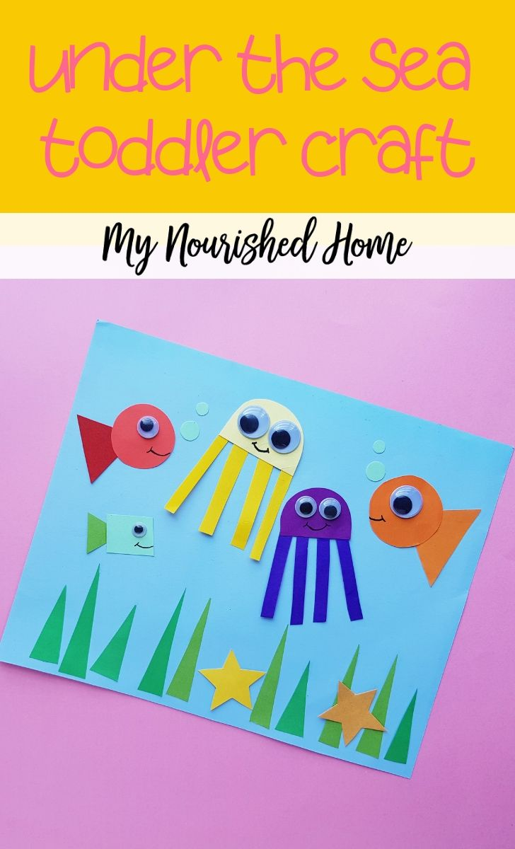 Under The Sea Craft For Kids My Nourished Home