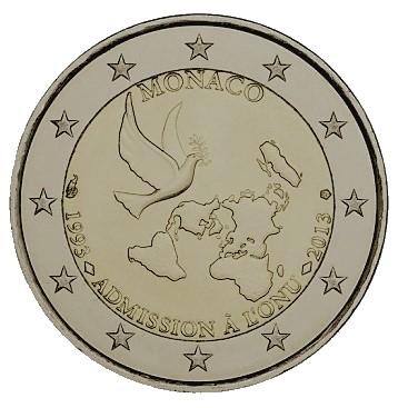 2 euro Monaco FN