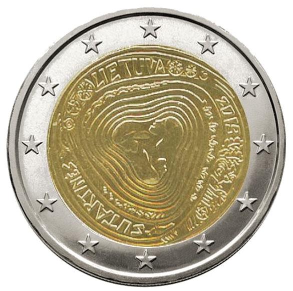 2 euro Sutartines