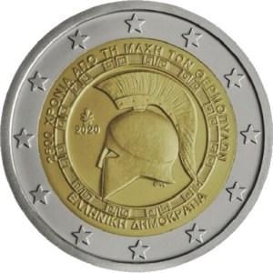 2 euro Thermopyle Grekland