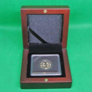 Boite numismatique pour 2 euros commémorative ou pièce en or