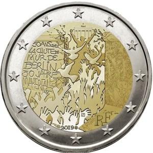 2 euro Berlinmuren