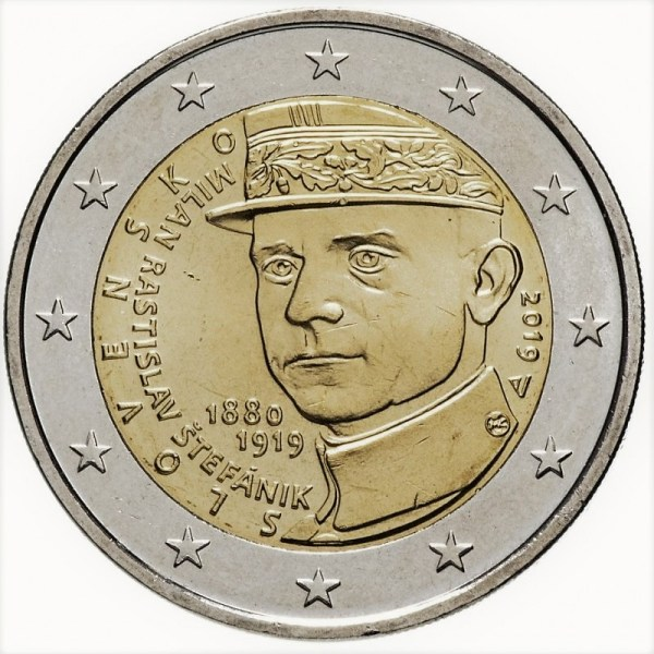 2 euro Milan Rastislav