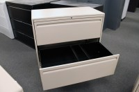 Haworth 2 Drawer Lateral File Cabinet | Cabinets Matttroy