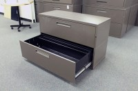 Meridian 2 Drawer Lateral File Cabinet - Used File Cabinets