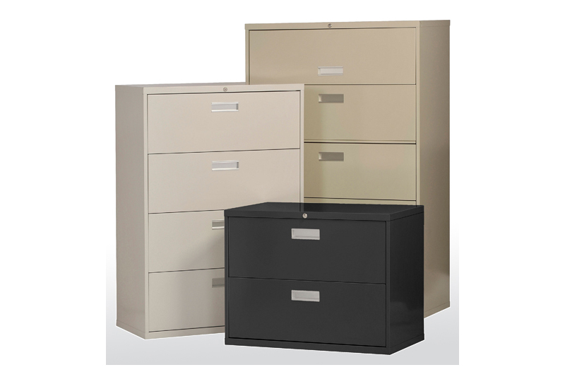 Define Lateral Filing Cabinets