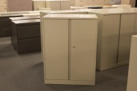 Used Steelcase 2 Door Storage Cabinet - Office Furniture ...