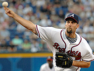 The Red Sox added John Smoltz for what he can do in October.