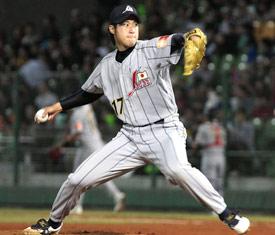 The latest Japanese import, Junichi Tazawa.