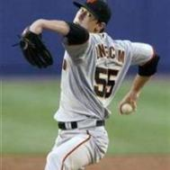 Tim Lincecum is striking out players but not picking up many wins.