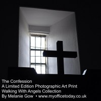 The Confession, 1/14 in the Walking With Angels Collection, by Melanie Gow.