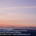 This One Glorious Day, 1/14 in the Walking With Angels Collection, by Melanie Gow. Limited Edition Photographic Art Print
