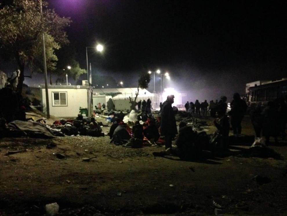 Moria Camp, Lesvos, January 2016, Benjamin Gow 8