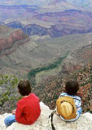 Front Row seats at the Grand Canyon