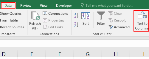 How to Split Text from One Cell into Multiple Cells in Excel