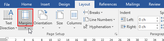 How to Change and Customize the Page Margins in Word