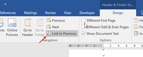 How to Start Page Numbering from the Third Page in Word