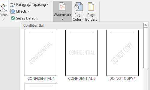 How to Add and Remove a Watermark in Word Document