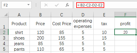 How to Copy Excel Formulas to Multiple Cells or Entire Column