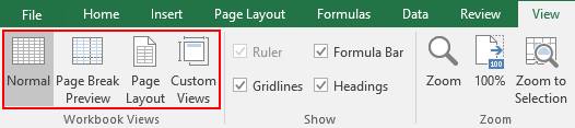 How to Remove the Dotted Borders in Excel