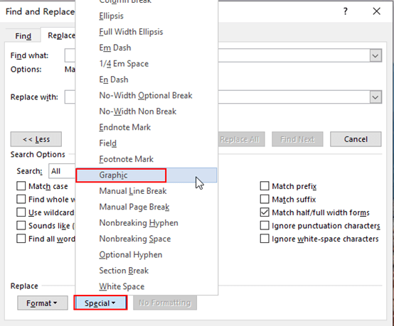 How to Batch Delete All the Pictures in Word