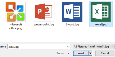 How to Insert Pictures to a Microsoft Excel File