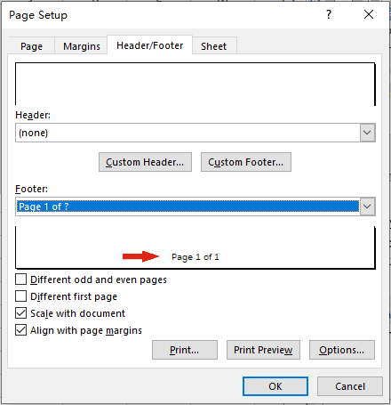 How to Insert Page Numbers to Excel Files When Printing
