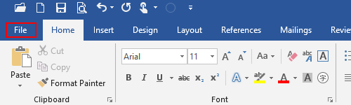 How to Convert DOCX to TXT in Word 2019